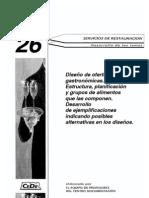 Diseño de Ofertas Gastronómicas - CEDE