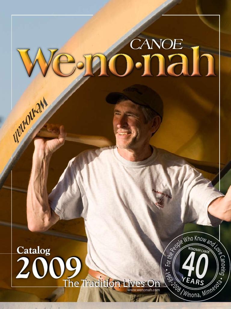 WC09 Catalog Web | Canoe | Fiberglass