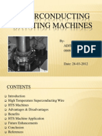 100861446 Superconducting Rotating Machines Presentation