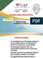 Psi Co Investigacion Educativa