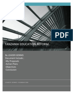 Tanzania Foundation for Education Reform