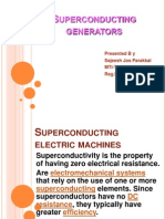 Superconducting Generators