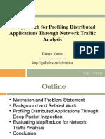 An Approach for Profiling Distributed Applications Through Network Traffic Analysis (Apresentação)
