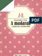 Biofüzetek 14 - Szentendrey Géza - A madarak