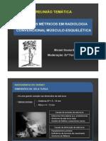 Estudos Metricos Radiologia Convencional