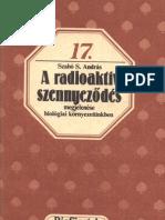 Biofüzetek 17 - Szabó S. András - A radioaktív szennyeződés