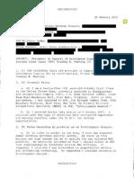 Private Bradley Manning Court Statement