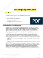 Configuring WorkCenter