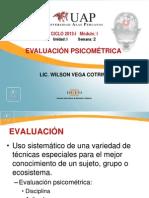 4. EVALUACIÓN PSICOMÉTRICA