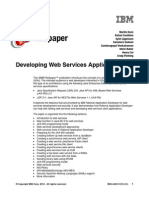Developing Webservices Applications