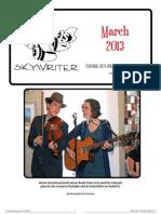 Durham Skywriter —  March 2013