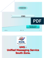 UMS(Uniifiied Messagiing Serviice)