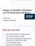 Physics in Parallel Gdc 2005