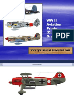 WW II Aviation Prints (Clavework Graphics)