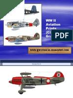 WW II Aviation Prints (Clavework Graphics)