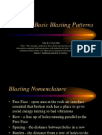 Basic Blasting PatternsBasic Blasting Patters