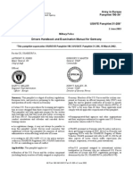 AE Pam 190-34 Euro DriversHandBook