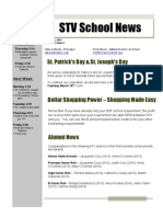 STV School Newsletter March 13, 2013