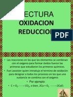 lectura oxido reduccion