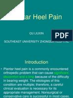 Plantar Heel Pain