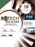 RoTech2008 Brochure Event nadeem