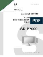 Toshiba Sd-p7000 Lcd