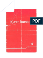 Kjære Kunde - NSB Flygeblad