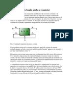 Amplificador de banda ancha a transistor BUENISIMA BASE Y TEORIA PROBABLE DISEÑO DE AMPLIFICADOR DE RF