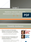 Lecture 2 - Probability Distributions