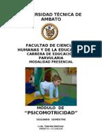 CONTENIDO PSICOMOTRICIDAD