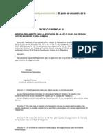 Decreto Supremo N 63