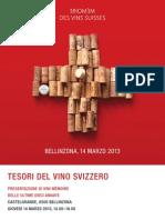 Tesori Del Vino Svizzero 2013