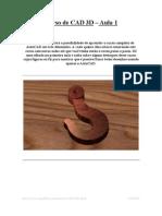 Curso de CAD 3D - Aula 1