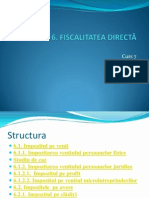 Curs 7 ,8,9,10Fiscalitatea Directa2011