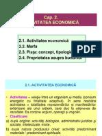 Cap 2 Micro Activitatea Economica