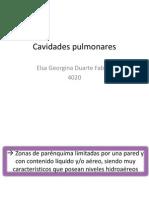 Cavidades y Quistes Pulmonares Terminada