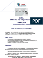 Methodes Des Temps Standards