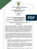 Licencia Ambiental LLA30