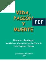 VIDA, PASIÓN Y MUERTE