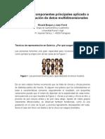 Análisis de componentes principales aplicados a la respresentación de datos multidimensionales