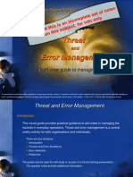 Operational Threat and Error Management Ver 11
