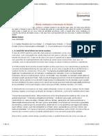 Crise econômica mundial- Moeda, mediação e intervenção do Estado