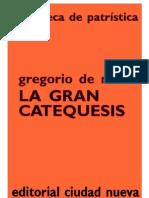 San Gregorio de Nisa Catequesis