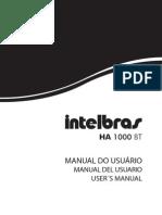 Manual Do Usuario Ha 1000 Bt