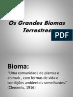 Os Grandes Biomas Terrestres