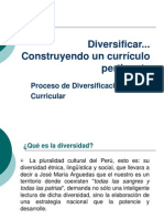 Diversificacion Curricular 1