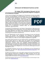 Leipziger Agentur Netresearch mit Netzwerk Tourismus auf der ITB