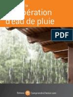 Guide de La Recuperation d Eau de Pluie