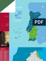 PORTUGAL - MAPA ALENTEJO [TP - SD]