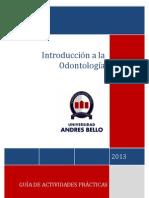 Guia Introduccion a La Odontologia 2013..